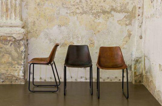 Be Pure Stoel : Bepurehome rough stoel bruin designwonen meubelen